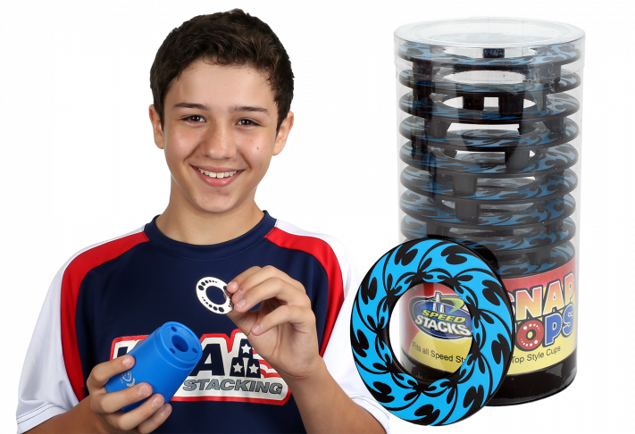 Snap Tops - Blue Spin
