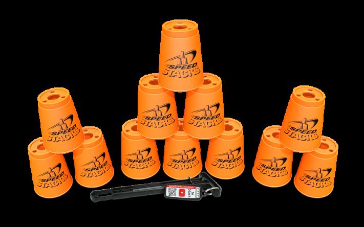 Kopper sæt  - Orange