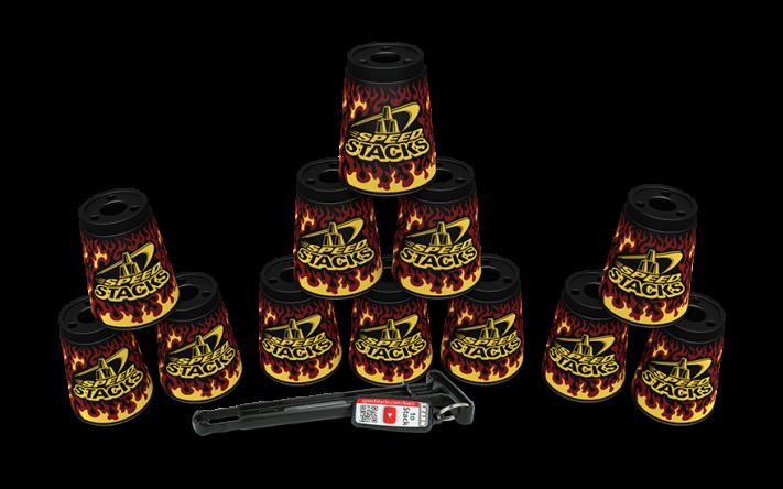 Special sæt Kopper - Black Flame