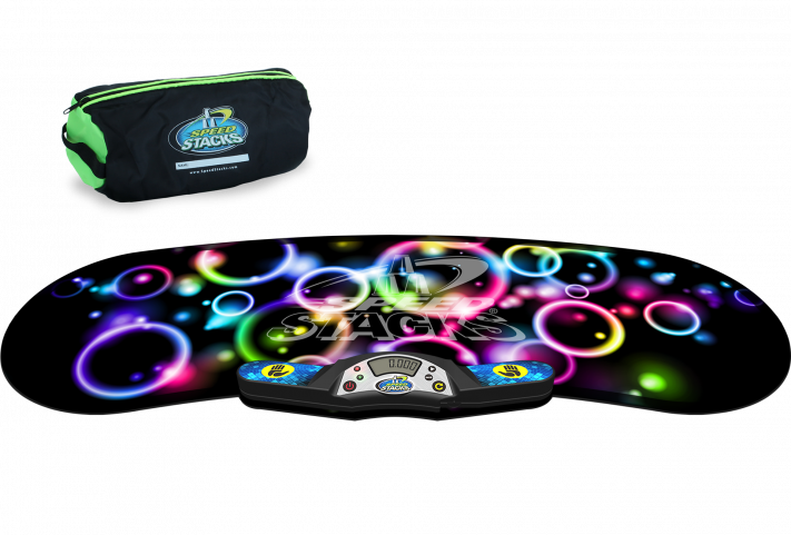 Neon Bubble StackMat inkl. Pro Timer